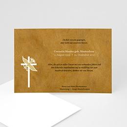 Trauer Danksagung christlich Symbol der Hoffnung