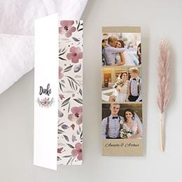 Danksagungskarten Hochzeit Herrlich romantisch