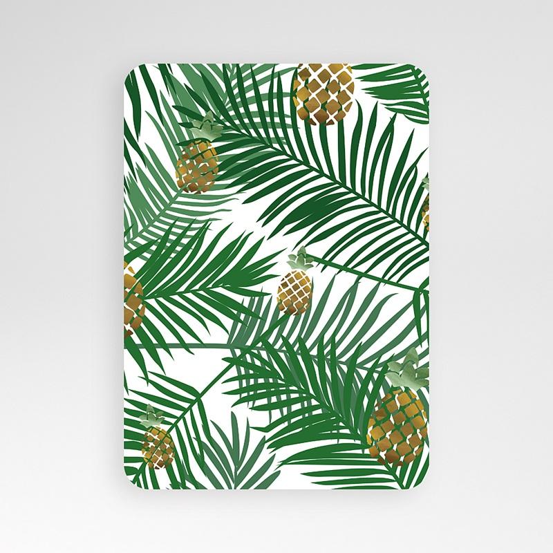 Alle Dankeskarten Hochzeit Ananas und Palmen pas cher