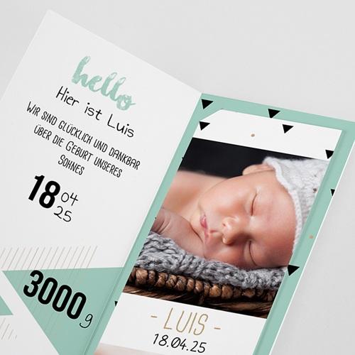 Babykarten für Jungen - Origami Boy 52996 preview