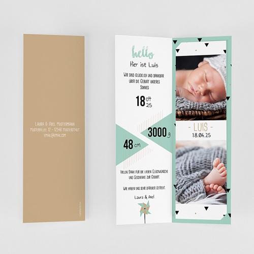 Babykarten für Jungen - Origami Boy 52997 preview