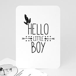 Geburtskarten für Jungen King Boy