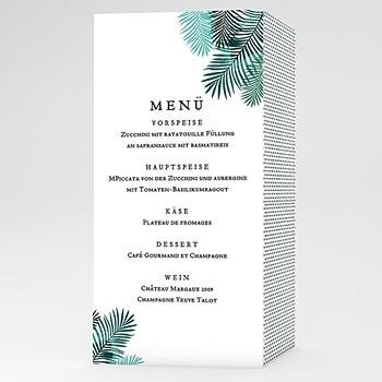Menükarten Hochzeit - Natural Chic - 0