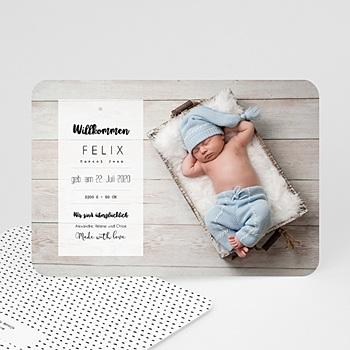 Babykarten für Jungen - Mit Liebe - 0