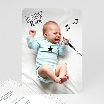 Originelle Geburtskarten  - Rockstar - 0