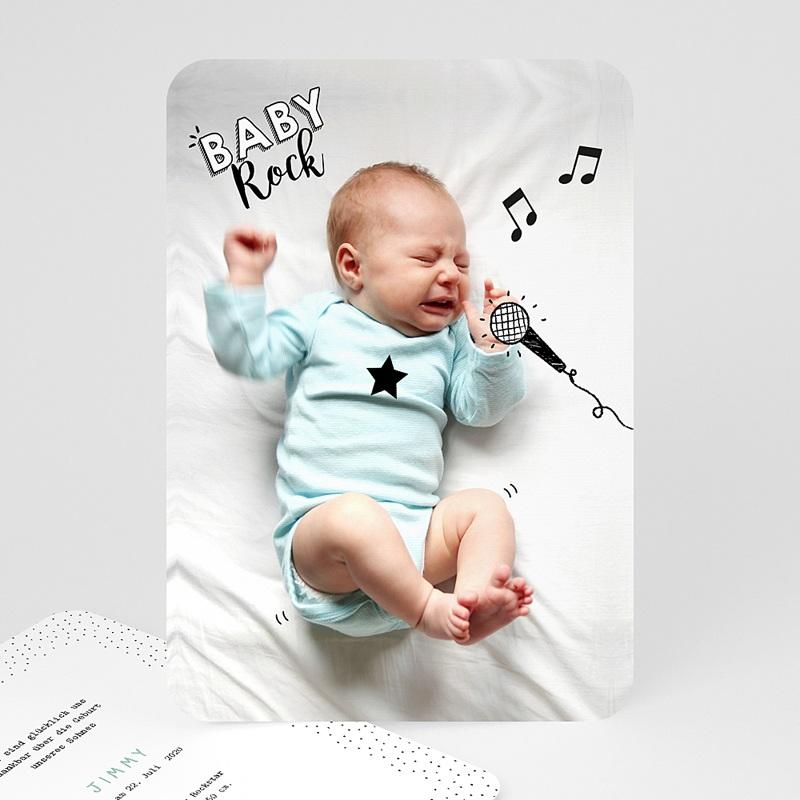Originelle Geburtskarten  Rockstar