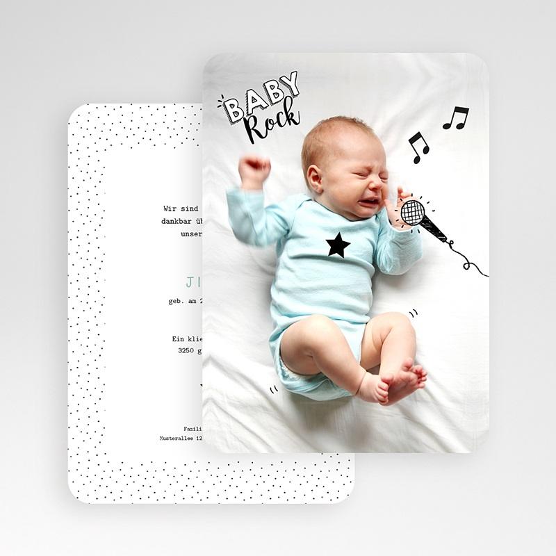 Originelle Geburtskarten  Rockstar gratuit