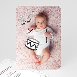 Originelle Geburtskarten  Kleine Trommel