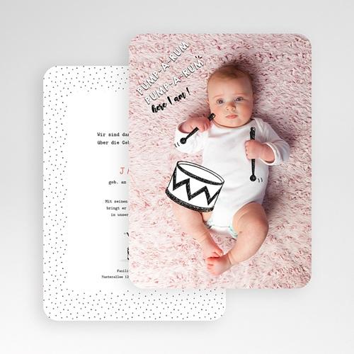 Originelle Geburtskarten  - Kleine Trommel 53094 test