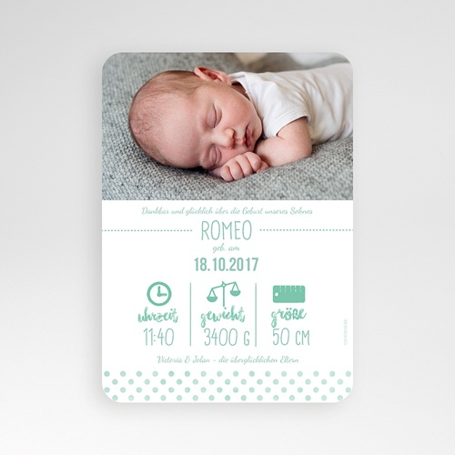 Babykarten für Jungen - Kraftpapier & Teddy 53162 preview