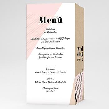 Menükarten Hochzeit - Wedding Geometrik - 0