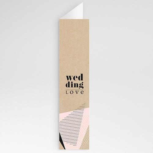 Menükarten Hochzeit - Wedding Geometrik 53198 test