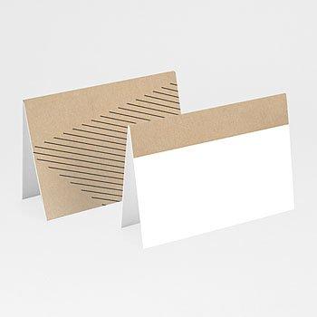 Tischkarten Hochzeit - Wedding Geometrik - 0
