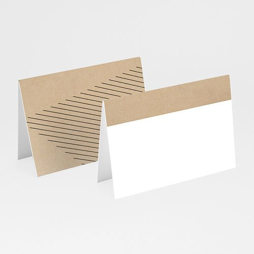 Tischkarten Hochzeit - Wedding Geometrik 53205