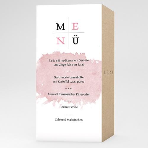Menükarten Hochzeit - Art Wedding 53211 test