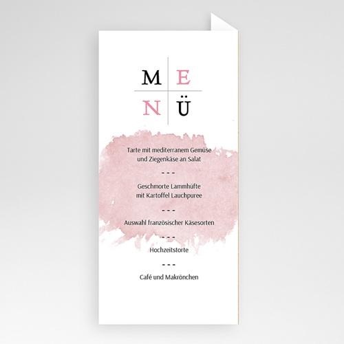 Menükarten Hochzeit - Art Wedding 53212 test