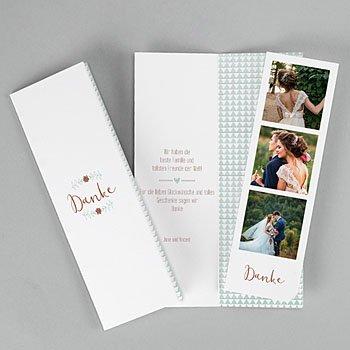 Alle Dankeskarten Hochzeit - Wedding Love - 0