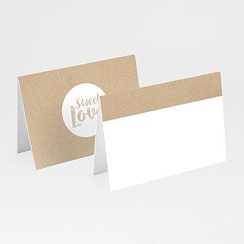 Tischkarten Hochzeit - Sweet Love - 0