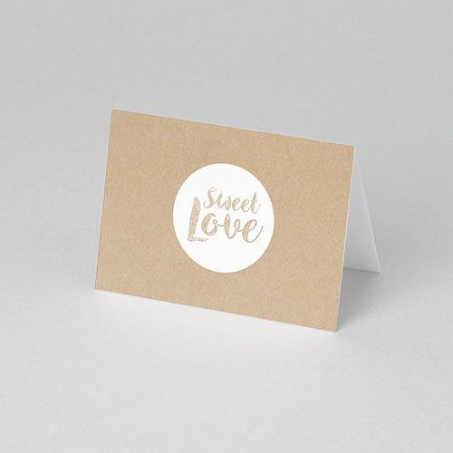 Tischkarten Hochzeit - Sweet Love 53302 test