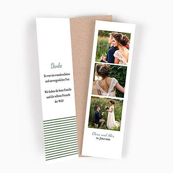 Alle Dankeskarten Hochzeit - Wiesenhochzeit - 0