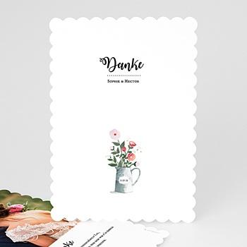 Danksagungskarten Hochzeit  - Rustikal - 0