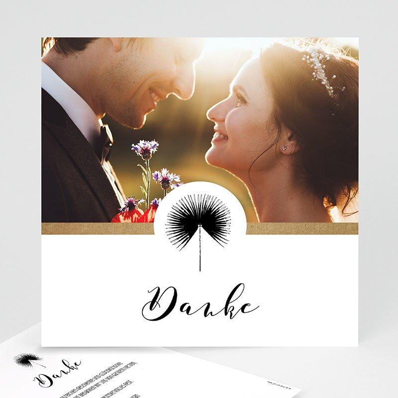 Alle Dankeskarten Hochzeit Love is Life