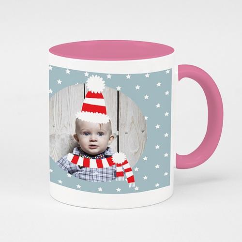 Zweifarbtasse - Kleiner Weihnachtsbote 53450