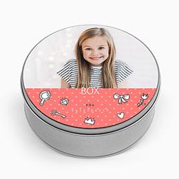Boite métallique Geschenke Kit Prinzessin