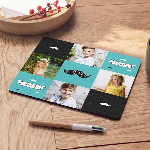 Foto-Mousepad - Papa moustache 53533