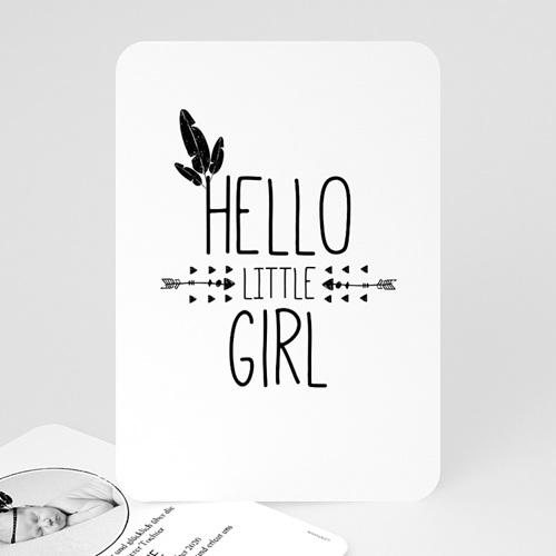 Geburtskarten für Mädchen - Little Girl 53546