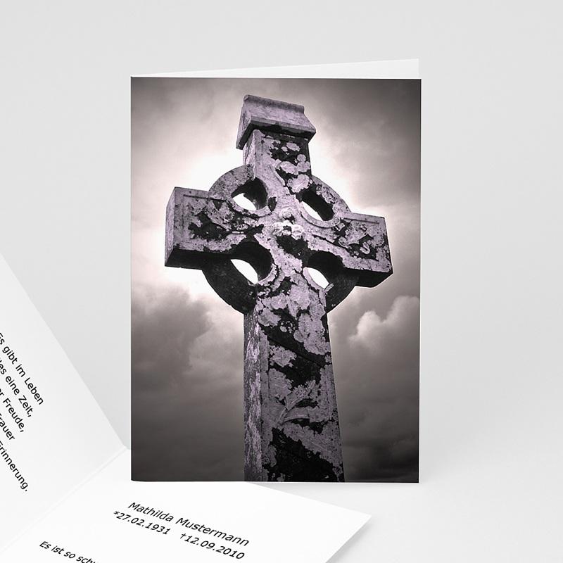 Trauer Danksagung christlich - Ornament 5355 thumb