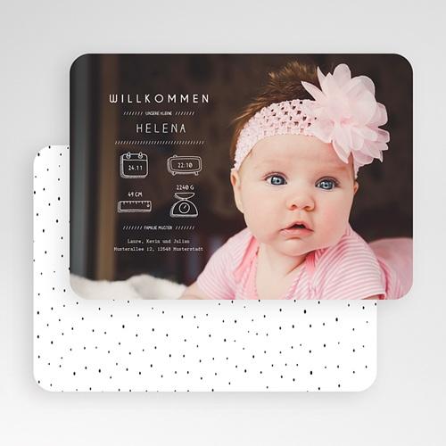 Geburtskarten für Mädchen - Präsentation 53557 test