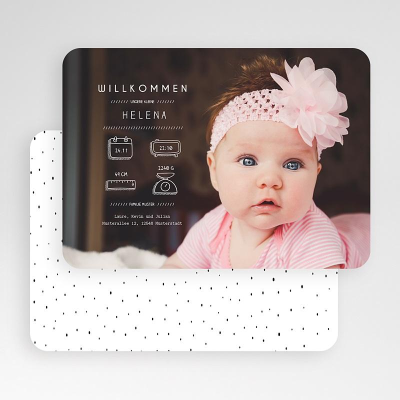 Geburtskarten für Mädchen Präsentation gratuit