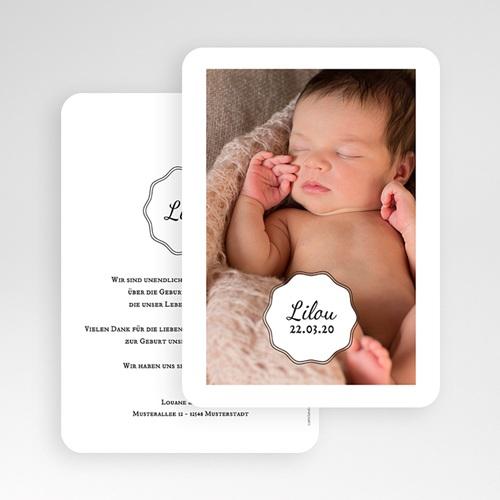 Geburtskarten für Mädchen - Vintage Look Girl 53566 preview