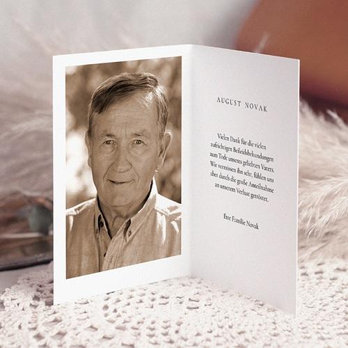 Weltlich Dankeskarten Trauer Engel pas cher