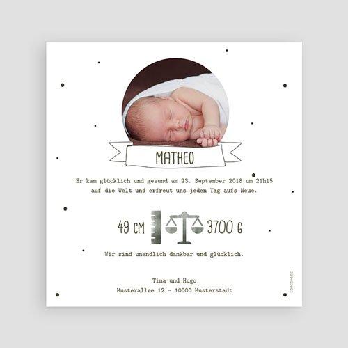 Babykarten für Jungen - Tropische Pflanzen 53618 preview