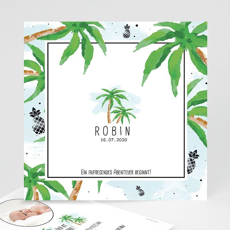 Geburtskarten für Jungen Robin