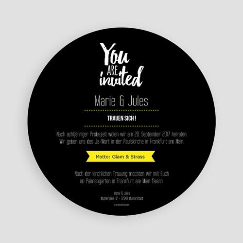 Einladungskarten Hochzeit  - Strass 53715 test