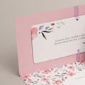 Einladungskarten Naturhochzeit  - Floral chic 53751 test