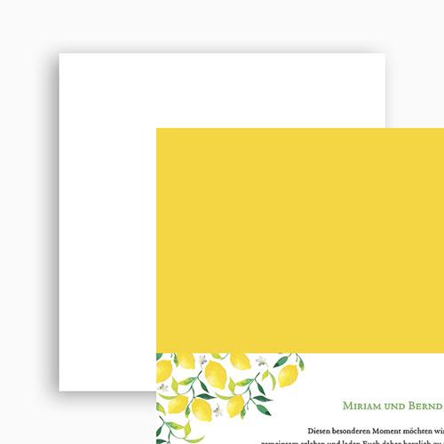 Kreative Hochzeitskarten - Lemon Wedding 53754 preview