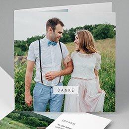Dankeskarten Hochzeit So nice