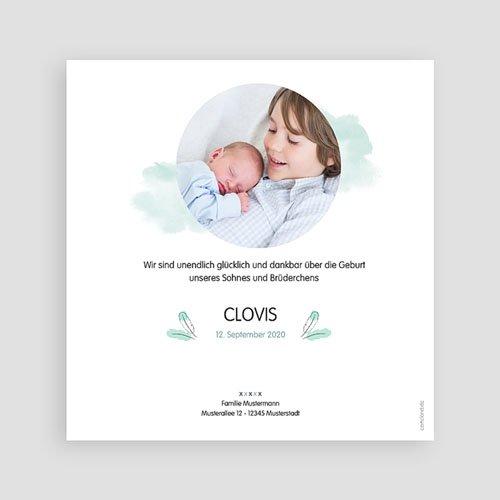 Babykarten für Jungen - Pinguin blau 53808 preview