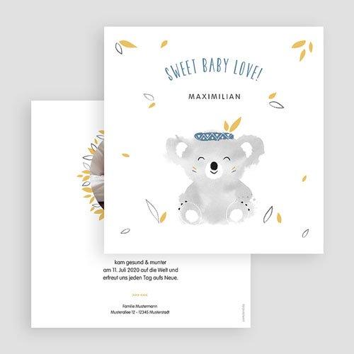 Babykarten für Jungen - Koala blau 53826 preview