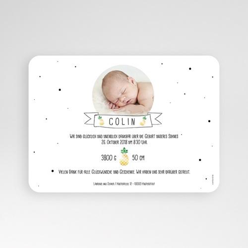 Babykarten für Jungen - Palmen & Ananas 53843 test