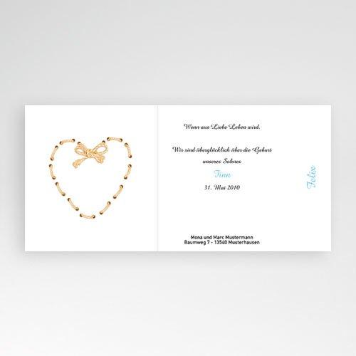 Geburtskarten für Mädchen Der Klassiker pas cher