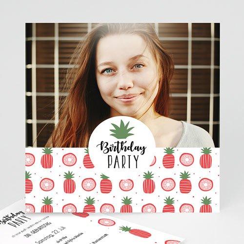Runde Geburtstage - Pineapple 53895