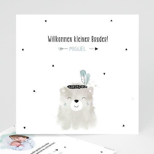 Babykarten für Jungen - Kleiner Bruder 53921