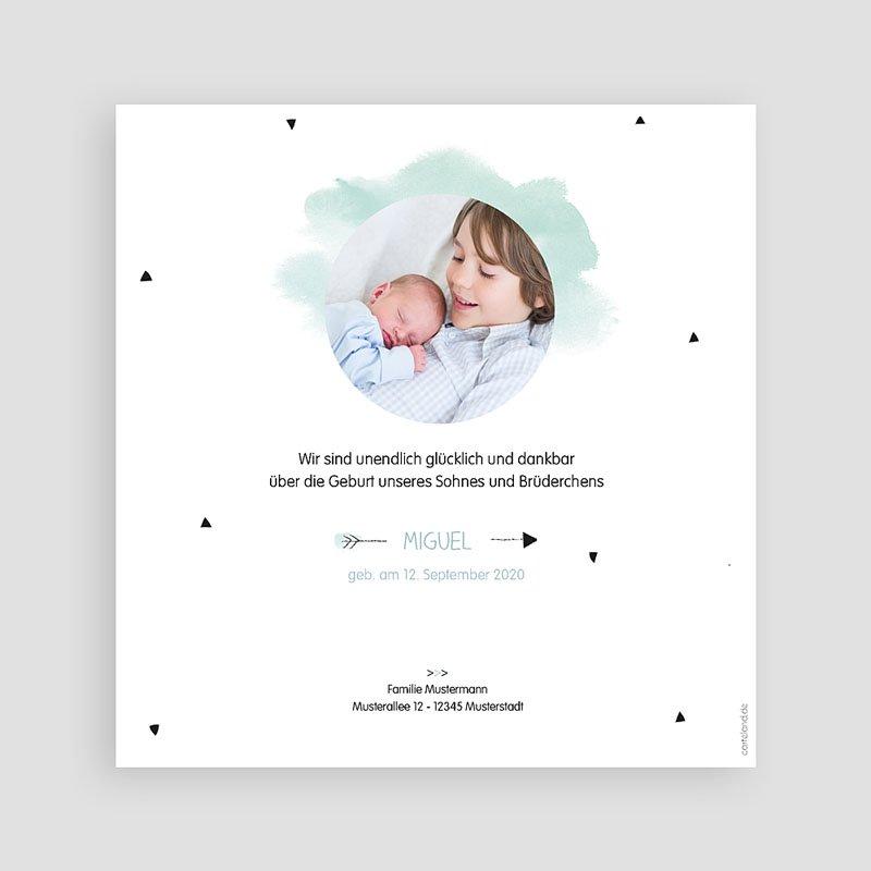 Geburtskarten mit Bär Kleiner Bruder pas cher