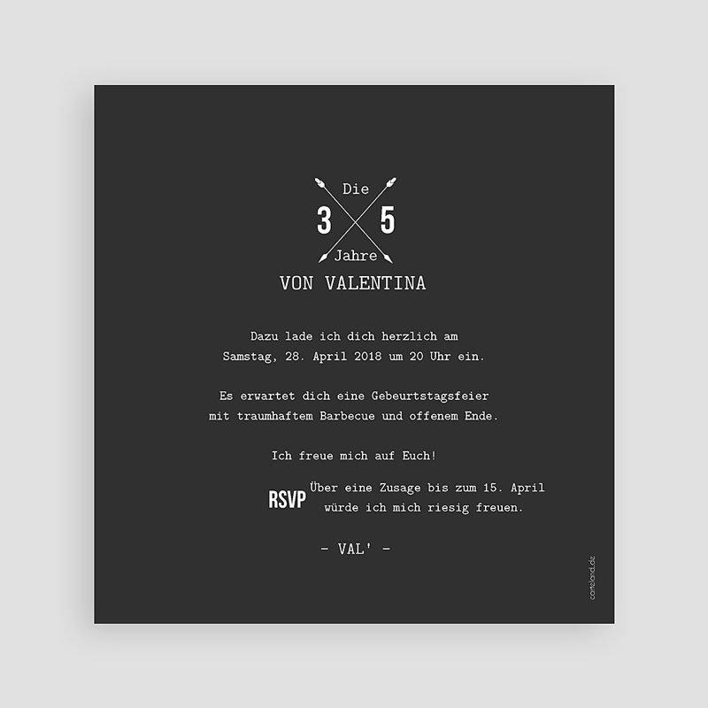 Runde Geburtstage - Schwarz-Weiss 53939 thumb