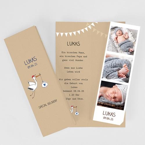 Babykarten für Jungen - Storch 54031